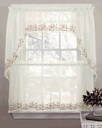 Amazon Lace Kitchen Curtains by Amazon Com Customer Reviews Hopewell Lace Kitchen Curtain 24