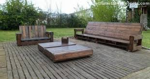 Pallet Wood Patio Chair Plans by Lounge Furniture Made From Pallets Recycled Things