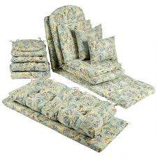 Jacobean Floral Indoor Outdoor Chair Cushions Collection