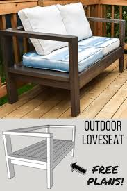 DIY Outdoor Loveseat And Sofa | Diy Furniture | Diy Outdoor ... Lovely Wooden Deck Chairs Fniture Plans Small Folding 48 Adirondack Lounge Chair Recling Sun Lounger Faszinierend Chaise Outdoor Tables Wooden Lounge Chair Sparkchessco Foldable Sleeping Wood For Sale Diy Chaise Odworking Plans Free Ideas Charis Very Nice And Stud Could Make One To With Plus Old