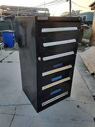 Used Vidmar Cabinets California by Used Stanley Vidmar 6 Drawer Cabinet Tool Box U2022 400 00 Picclick