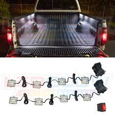 100 Truck Bed Lighting System NEW 8pc TRUCK BED LED LIGHTING KIT SYSTEM W 48 WHITE LEDs LUTB1