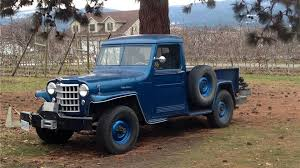 1951 Willys Jeep Truck Parts