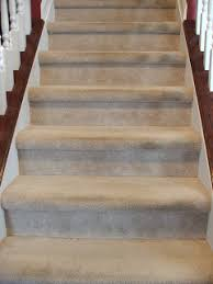 Squeaky Floors Under Carpet by Remodelaholic Under 100 Carpeted Stair To Wooden Tread Makeover Diy