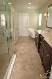 Narrow Bathroom Floor Storage by Narrow Bathroom Remodeling Hyde Park Oh