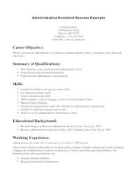 Manager U2013 Baxrayder Sample Resume For Administrative Officer Stanmartin