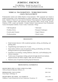 Sections Of A Resume Awesome New Ability Summary Examples