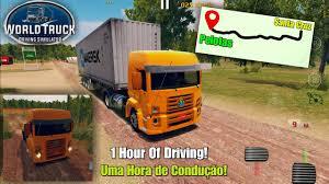 100 Truck Driver Simulator World Driving Driving Across The Map Santa Cruz