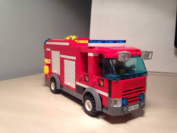 100 Lego Fire Truck Games Engine Lego City Fire Station 7208