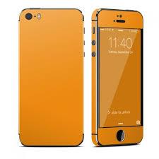 Solid State Orange OtterBox muter iPhone 5 Skin