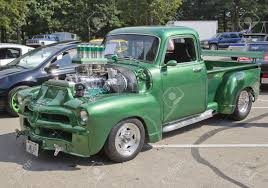 WAUPACA, WI - AUGUST 25: 1954 Chevy 3100 Truck At The 10th Annual ... 1954 Chevrolet Panel Truck For Sale On Classiccarscom 3100 Classics Autotrader Roletchevy 1 Ton 3800 Panel Truck Chevrolet Retro Custom Hot Rod Rods H Chevy Yarils Customs Filerearview Truckjpg Wikimedia Commons Joey Taz Hchens Chopped The A Homebuilt Pickup Inspired By Street Rodder Hot Rod Dukes Auto Sales 1956 Delivery Panel Truck Trucks Pinterest Ez Chassis Swaps