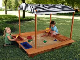 Outdoor Room Ideas For Kids   Sand Boxes, Backyard And Canvases 60 Diy Sandbox Ideas And Projects For Kids Page 10 Of How To Build In Easy Fun Way Tips Backyards Superb Backyard Turf Artificial Home Design For With Pool Subway Tile Laundry 34 58 2018 Craft Tos Decor Outstanding Cement Road Painted Blackso Cute 55 Simple 2 Exterior Cedar Swing Set Main Playground Appmon House