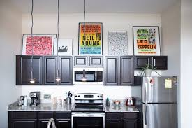 cabinet roch gap actually attractive ways to style that awkward space above kitchen