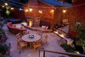 Great Patio Lighting Ideas Outdoor Outdoor Stylish Outdoor