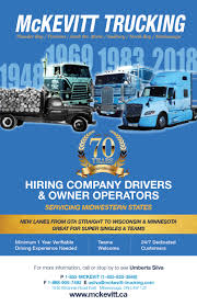 McKevitt Trucking Limited - Over The RoadOver The Road Driver Success Helping Truck Drivers Succeed In Their Career Life Lunchtime At My Overpass Updated With May 15 Pictures Hshot On Steroids Straight Forward Transportation Of Ohio Commercial Rental Comfort For The Road Expeditenow Magazine Our 4 Years At Panther Expediter Team Youtube First Class Services 2017 Peterbilt 389 Ordrive Owner Becoming An Operator Cdl 101 Mile Markers How To Become Opater A Dumptruck Chroncom Courier And Trucking Link Directory Cdllife Over Solo Dry Bulk Pneumatic