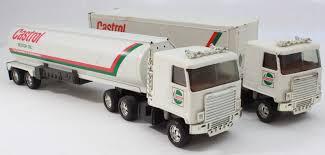 100 Ertl Trucks Used Pair Of ERTL Castrol Semi Tanker Freight Trailers