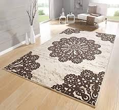 teppiche für wohnzimmer teppich beige schwarz braun grün creme rot kurzflor teppich modern teppichboden mit design muster marokkanisch ökotex