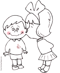 Kids Coloring Book Pages