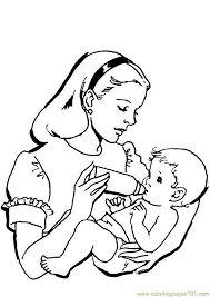 Baby Boy Coloring Pages To Print