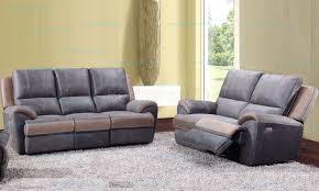 canape relax tissu ensemble canapé 3 2 places en tissu haute qualité avec relax