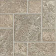 Groutable Peel And Stick Tile Home Depot by Armstrong 18 In X 18 In Peel And Stick Travertine Modular Beige