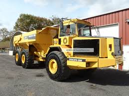 1995 Volvo A35 Off - Highway Articulating Dump Truck 6x6 Tailgate Look