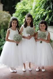 25 white flower girl dresses ideas flower