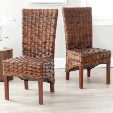 Inspiring Dining Room Outdoor Wicker Arm Chairs With Rattan Chair Parsons