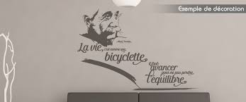 stickers cuisine citation stickers citation albert einstein la vie c est comme une bicyclette