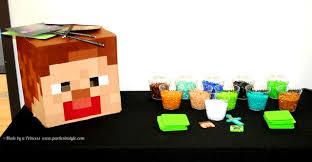 Minecraft Decoration Heads Beautiful Minecraft Birthday Party