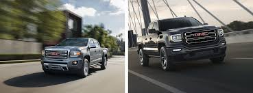 2018 GMC Sierra 1500 Vs. GMC Canyon Truck | Arlington Heights, IL Comparison Test 2016 Chevrolet Colorado Vs Gmc Canyon Diesel Truck Tool Compare 2017 Ford F150 Toyota Truck Comparison Blog Post List Mike Bass Midsize Best Pickup Trucks Toprated For 2018 Edmunds Ram 1500 Silverado Big Three Chevy New Small Used Trucks Check More At Http Hilux Versus Ranger Review Salary Full Size Huge Monster In To A Young Lady Stock Image