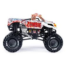 100 Monster Jam Toy Truck Videos Official Zombie DieCast Vehicle 124