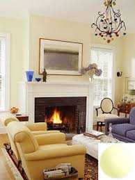 pale yellow living room glidden candle glow living rooms