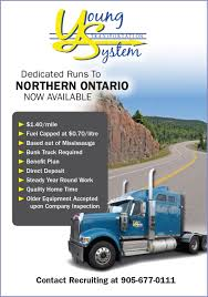 Young Transportation (Northern Ontario Runs) - Truck News