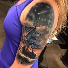 100 Design A Pirate Ship Sleeve Best Tattoo Design Ideas