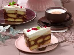 löffelbiskuit torte ganz ohne backen