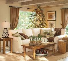 Country French Living Rooms by Rustic Country Living Room Curtains