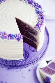 Purple Velvet Cake via Sweetapolita