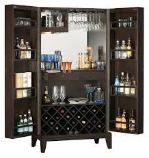Locking Liquor Cabinet Amazon amazon com howard miller barolo wine and bar storage cabinet