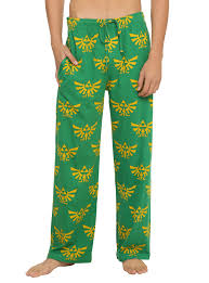 the legend of zelda triforce guys pajama pants topic