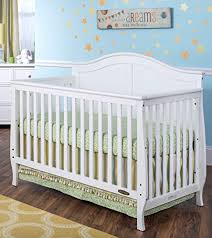 amazon com child craft camden 4 in 1 lifetime convertible crib
