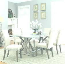 Upholstered Dining Room Sets Driftwood Set Chairs Nailhead Trim White Tufted Chair With Furniture Nailheads On For Sale Purple Gray