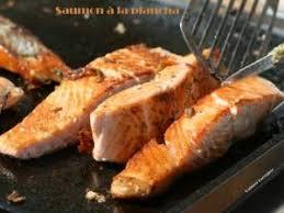 pavés de saumon à la plancha par cuisine guylaine