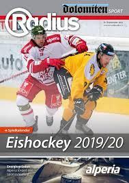 eishockey 2019 20