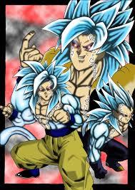 Ulitmate Goku Vegeta Fusion By I Grogan