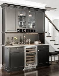 White Kitchen Cabinets With Wine Storage