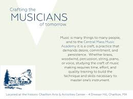 Dresser Hill Charlton Ma Menu by Central Mass Music Academy U2014 Crafting The Musicians Of Tomorrow
