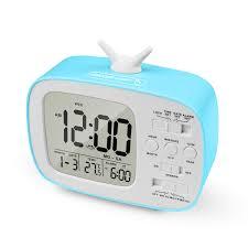temperatur süße weckuhr mit nachtlicht geschenke wecker