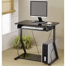 Parsons Mini Desk Aqua by Compact Computer Desks Cymax Stores