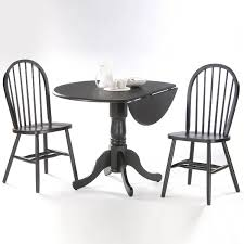 Amazon.com - 3 Pc Round Dual Drop Leaf Dinette Table And Chair Set ... Anna Drop Leaf Pedestal Table Ding Room Tables Lifestyle Rhode Island Round Kitchen 2 Windsor Chairs Liberty Fniture Low Country Black 3 Pc Set With A Dropleaf Ding Table Is A Great Way To Create Space In Smaller The Brown Dropleaf Available At 5 Star Shop Coaster Company White Natural Free Shipping Hanover Dublin Living Dundee And Free Uk Delivery Julian Bowen Honey Pine Chair Brooks Laminate Top 193642 Elnora Hardwood Countryside Amish Antique Drop Leaf 6 X Ercol Chairs Kt8 Elmbridge For